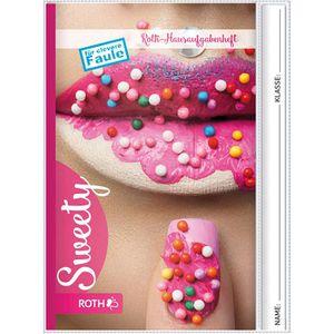 Hausaufgabenheft Roth Teens Sweety 88283