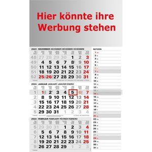 3-Monatskalender Kalenderwerk Jahr 2022