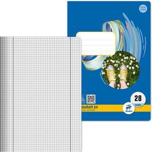 Schulheft Staufen Style 040416028, Lineatur 28