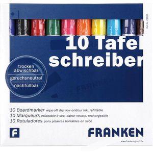 Boardmarker Franken Z1901, farbig sortiert