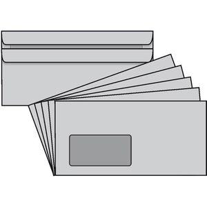 Briefumschläge Mailmedia 125 x 235mm, grau