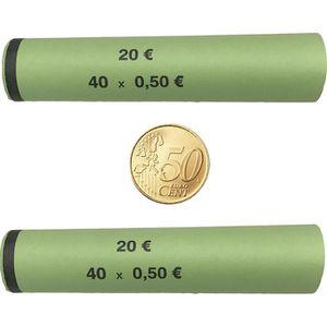 Münzhülsen Betec 3707, für Rollgeld
