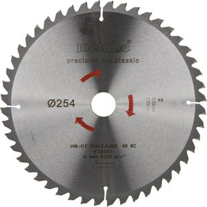 Kreissägeblatt Metabo Precision Cut, 628061000
