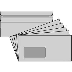 Briefumschläge Rössler DIN lang, grau