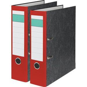 Ordner Grüner-Balken Karton, A4, 8cm