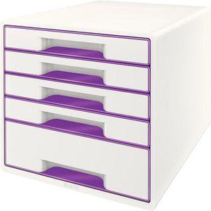 Schubladenbox Leitz 5214-20-62, WOW Cube, A4