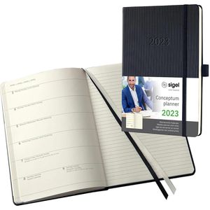 Buchkalender Sigel C2214 Conceptum, Jahr 2022