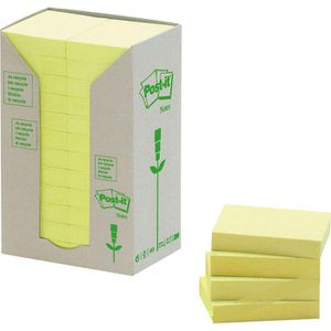 Haftnotizen Post-it Recycling Notes, Tower, 653-1T