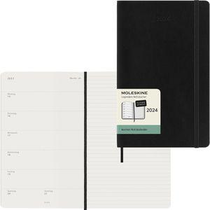 Buchkalender Moleskine 850215, Large, Jahr 2021