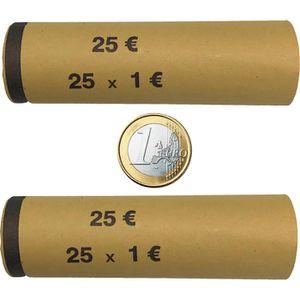 Münzhülsen Betec 3708, für Rollgeld