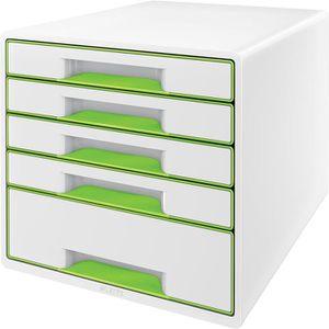 Schubladenbox Leitz 5214-20-54, WOW Cube, A4