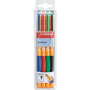 Tintenroller Stabilo PointVisco, 1099/4
