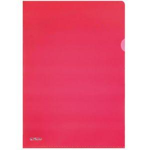 Sichthüllen Herlitz 50009091, rot, A4