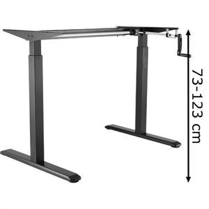 Schreibtischgestell LogiLink EO0010, schwarz