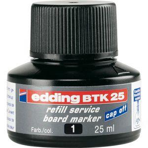 Nachfülltusche Edding BTK25, schwarz