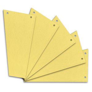 Trennstreifen Herlitz 10838381, Trapez, gelb