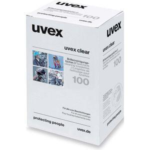 Brillenputztücher Uvex Feuchtreinigungstücher
