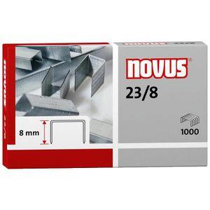 Heftklammern Novus 042-0040, 23/8, verzinkt