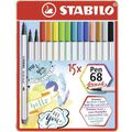 Brush-Pen Stabilo Pen 68, 568/15-32