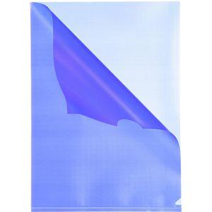 Sichthüllen Falken 11297744, blau, A4