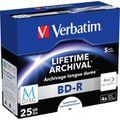 Blu-ray Verbatim 43823, 25GB, 4-fach