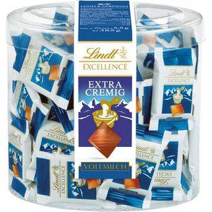Minischokolade Lindt Excellence Minis Extra Cremig