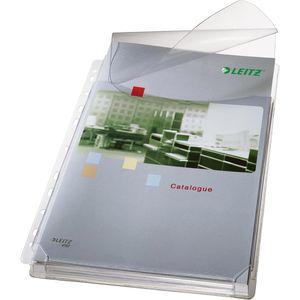 Prospekthüllen Leitz 4757-30-03 Maxi, genarbt, A4