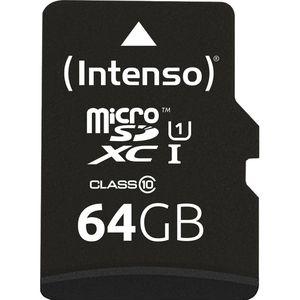 Micro-SD-Karte Intenso Premium 3423490, 64 GB