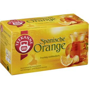 Tee Teekanne Spanische Orange
