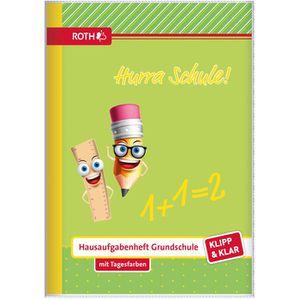 Hausaufgabenheft Roth Klipp+Klar Hurra Schule