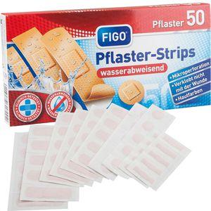 Pflaster Figo Pflaster-Strips 50 Strips
