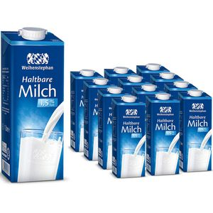 Milch Weihenstephan fettarme H-Milch 1,5% Fett