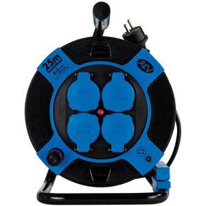 Kabeltrommel REV-Ritter blau, 25m
