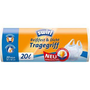 Müllbeutel Swirl Reißfest & Dicht, 20 Liter