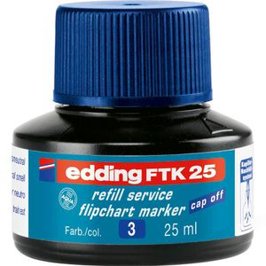 Nachfülltusche Edding FTK25, blau