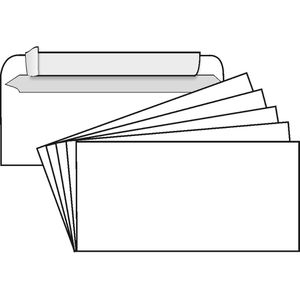 Briefumschläge ELCO 74532.12, Din lang+, weiß