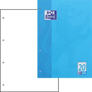 Briefblock Oxford 100050354, Lineatur 20, A4