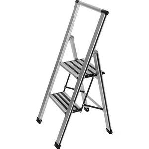 Klapptritt Wenko 601011100, aus Aluminium