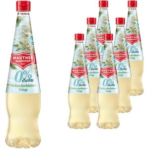 Sirup Mautner Holunderblüte 0%, ohne Zucker