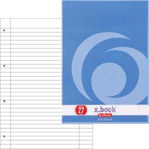 Briefblock Herlitz 216275 x-book, A4