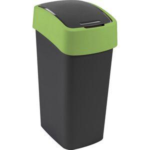 Mülleimer Curver Flip Bin 50L, grün