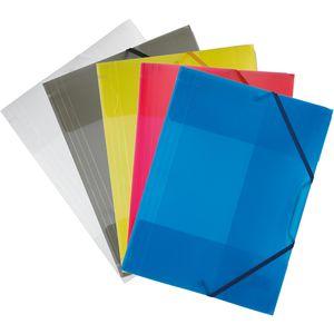 Eckspanner Folia 6989, A4, farbig sortiert