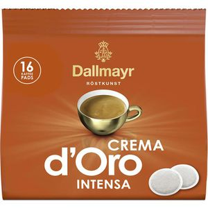 Kaffeepads Dallmayr Crema d'Oro, Intensa