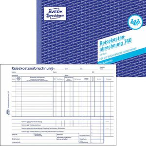 Reisekostenabrechnungen Zweckform 740