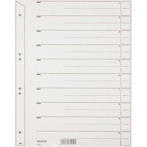 Trennblätter Leitz 1650-00-85, A4, grau