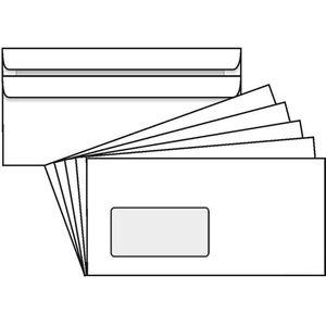 Briefumschläge Rössler DIN lang, weiß
