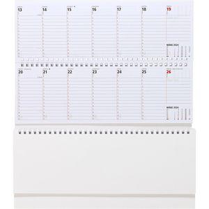Tischkalender Zettler 146 blau, Jahr 2022