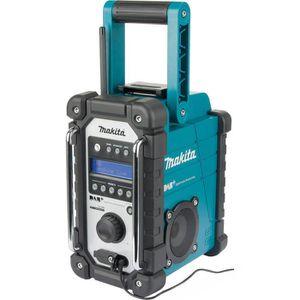 Baustellenradio Makita DMR110, Akku 7,2-18V