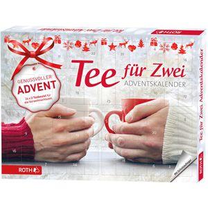 Adventskalender Roth 80297 Tee für Zwei
